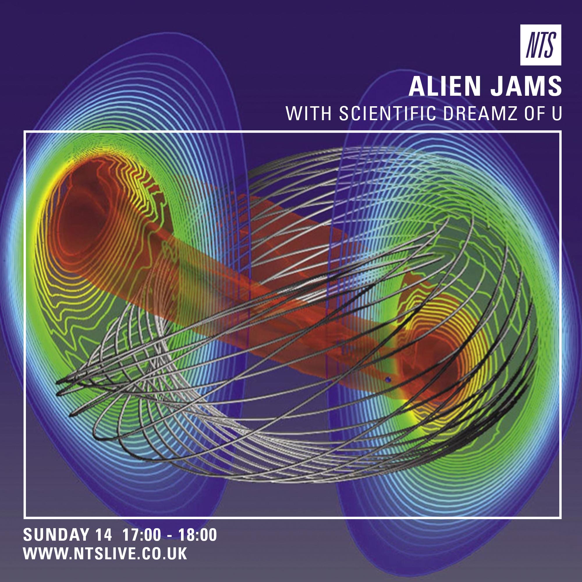 ALIEN JAMS Scientific Dreamz of U